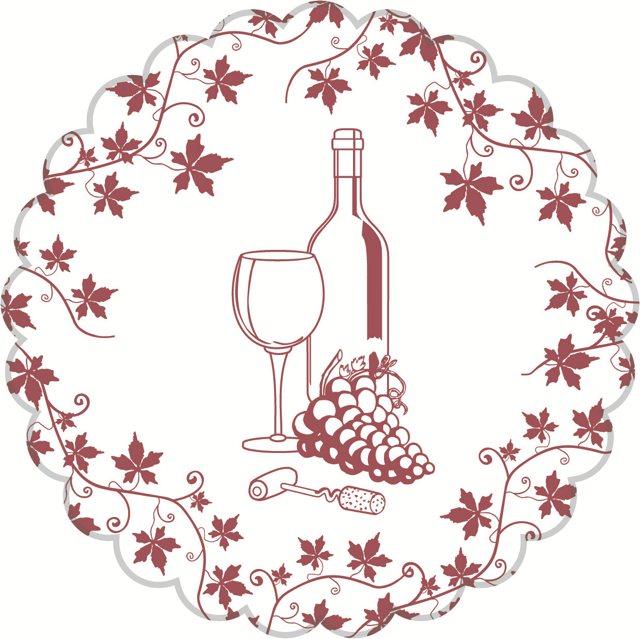 Weindeckchen Bordeaux