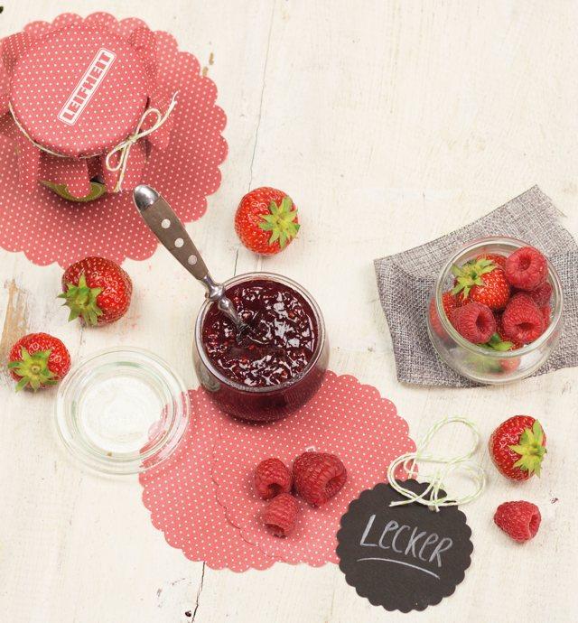 Marmeladenglasdeckchen