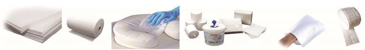 Krankenhausbedarf Produkte für Medizin und Hygiene Einweghandtücher Einweg Bettwäsche Waschhandschuhe Einweg-Lätzchen Zellstoffwattetupfer Hand- und Fussauflagen