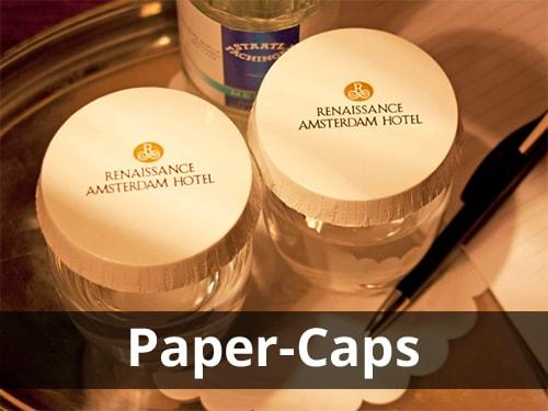 Paper Caps / Caps aus Karton