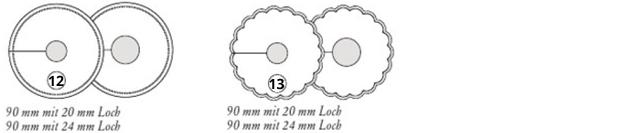 Pilsdeckchen mit Loch und Schlitz aus Tissuewatte