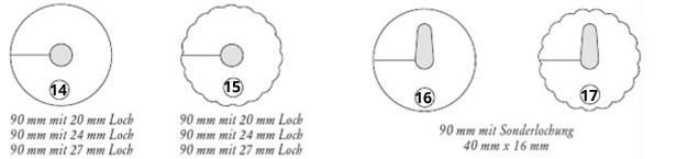 Pilsdeckchen mit Loch und Schlitz aus Suagstoffpapier