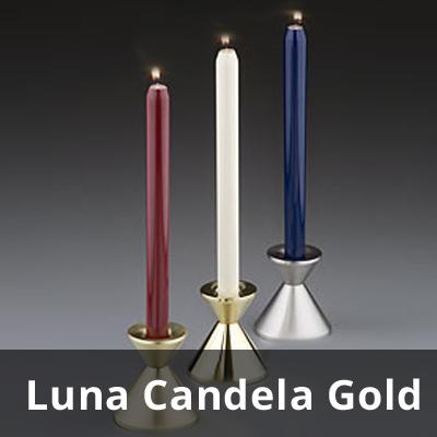 Kerzenleuchter Luna Candela (gold)